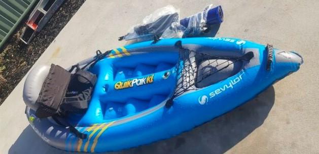 Sevylor Coleman K1 Inflatable Kayak Review - John sport map